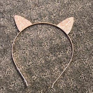 Other - Rose gold rhinestone ear headband